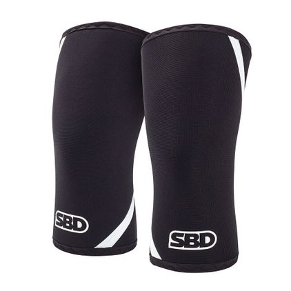 SBD Knee Sleeves, Black/White