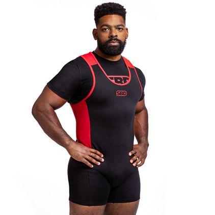 SBD Singlet Mens, Black/Red