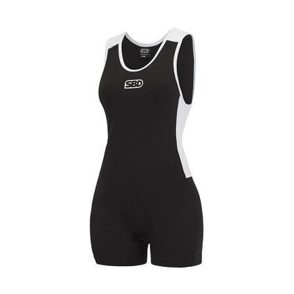 SBD Singlet Womens, Black/White