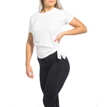 Side Knot Tee Allie, White