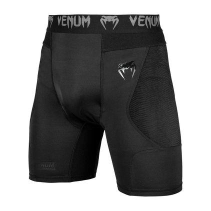 Venum G-Fit Compression Shorts, Black