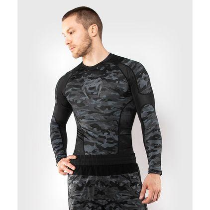 Venum Defender Rashguard - Long Sleeves