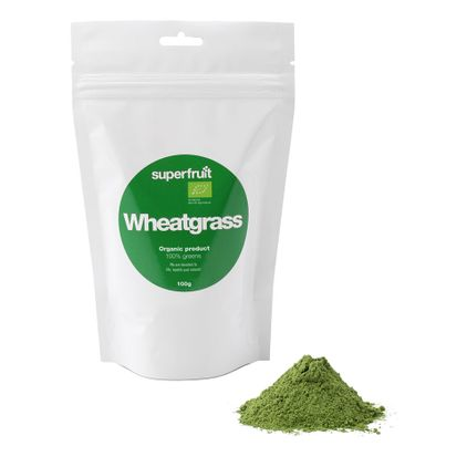 Superfruit Wheatgrass/Vetegräs Powder