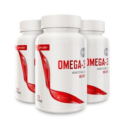 3 st Krillolja Omega-3